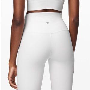 Lululemon Align Pant 7/8 White